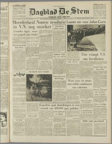 de Stem 1958-08-19