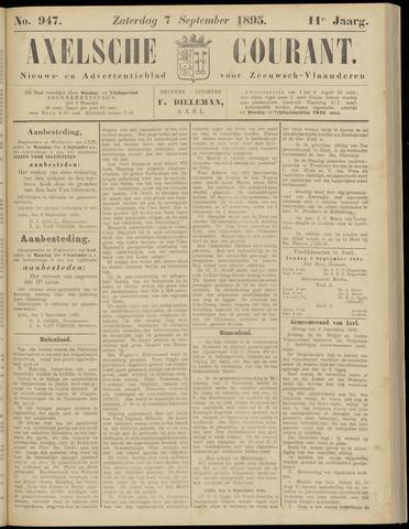 Axelsche Courant 1895-09-07