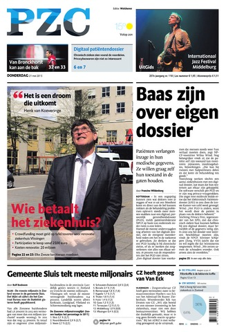 Provinciale Zeeuwse Courant 2015-05-21