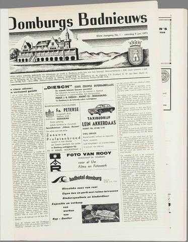 Domburgsch Badnieuws 1973