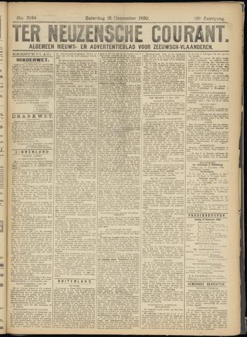 Ter Neuzensche Courant. Algemeen Nieuws- en Advertentieblad voor Zeeuwsch-Vlaanderen / Neuzensche Courant ... (idem) / (Algemeen) nieuws en advertentieblad voor Zeeuwsch-Vlaanderen 1920-12-18