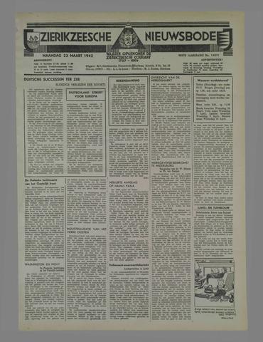 Zierikzeesche Nieuwsbode 1942-03-23