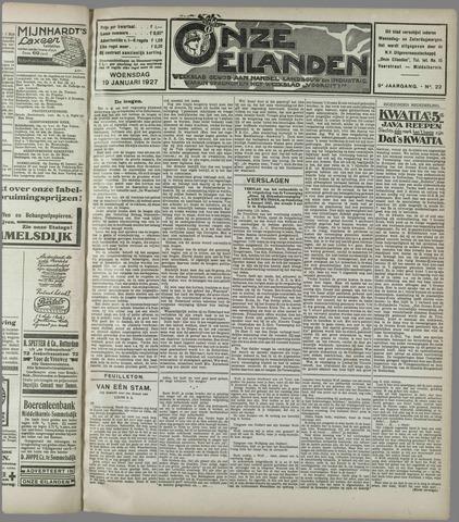 Onze Eilanden 1927-01-19