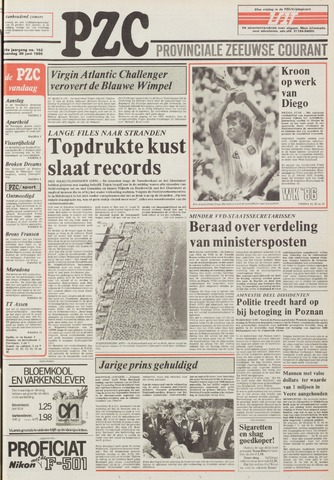 Provinciale Zeeuwse Courant 1986-06-30
