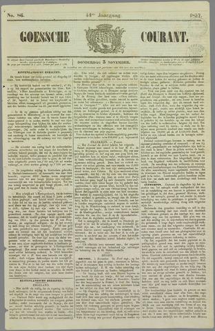 Goessche Courant 1857-11-05