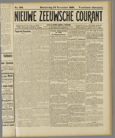 Nieuwe Zeeuwsche Courant 1918-11-14