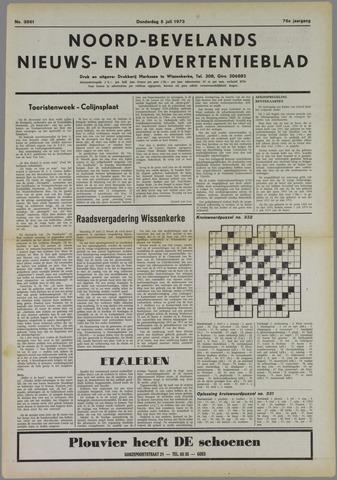 Noord-Bevelands Nieuws- en advertentieblad 1973-07-05