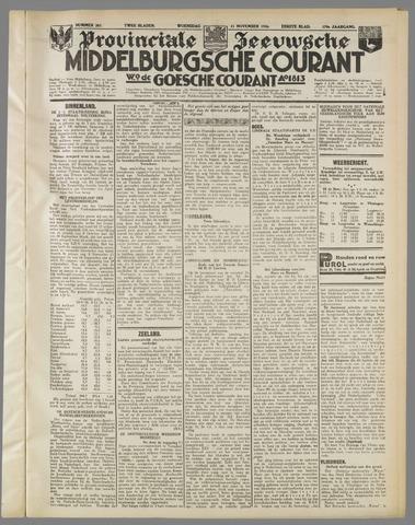 Middelburgsche Courant 1936-11-11