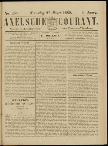 Axelsche Courant 1889-03-27