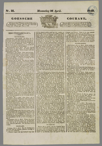 Goessche Courant 1849-04-16