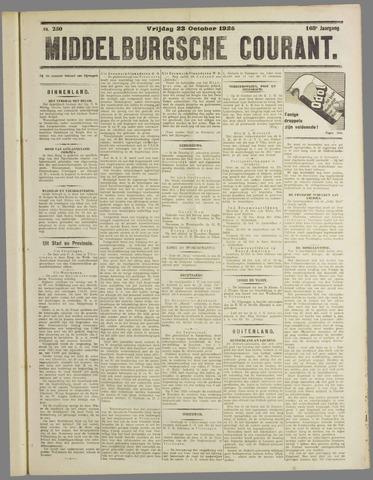Middelburgsche Courant 1925-10-23