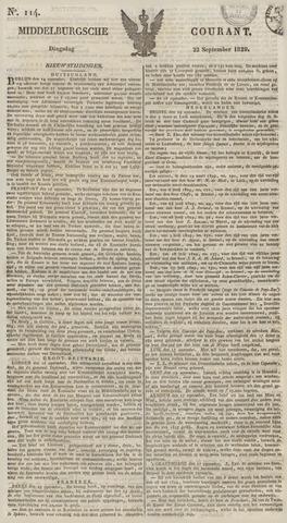 Middelburgsche Courant 1829-09-22