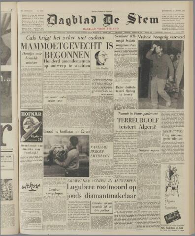 de Stem 1962-03-22
