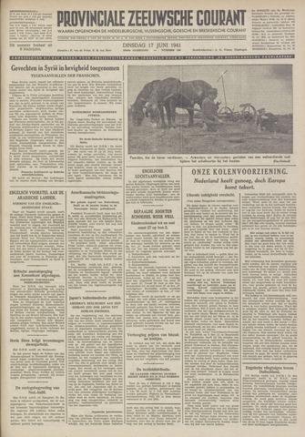 Provinciale Zeeuwse Courant 1941-06-17