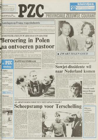 Provinciale Zeeuwse Courant 1984-10-22
