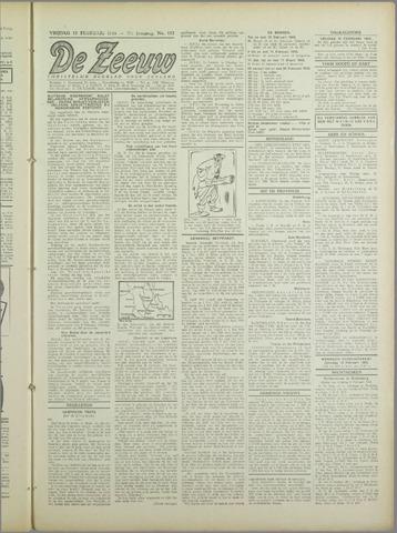 De Zeeuw. Christelijk-historisch nieuwsblad voor Zeeland 1943-02-12