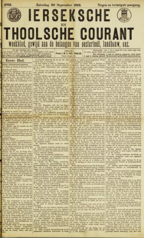 Ierseksche en Thoolsche Courant 1913-09-20