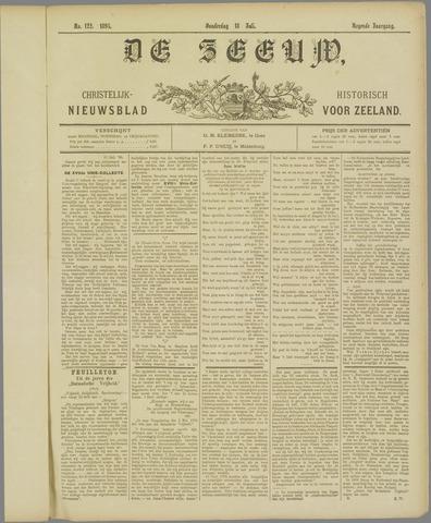 De Zeeuw. Christelijk-historisch nieuwsblad voor Zeeland 1895-07-18