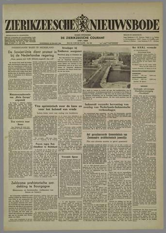 Zierikzeesche Nieuwsbode 1954-03-25