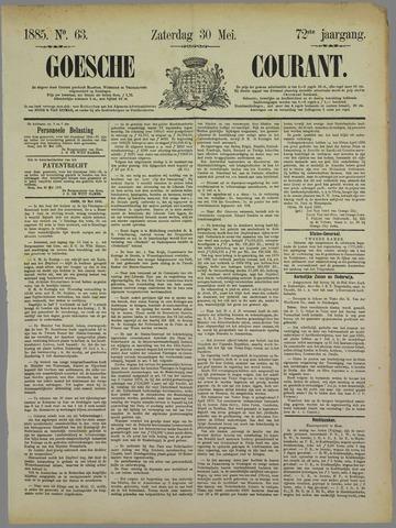 Goessche Courant 1885-05-30