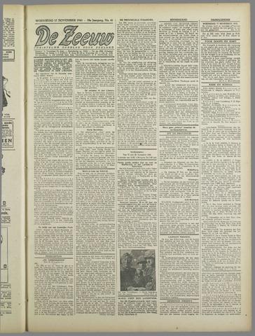 De Zeeuw. Christelijk-historisch nieuwsblad voor Zeeland 1943-11-17