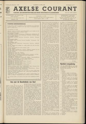 Axelsche Courant 1966-04-23