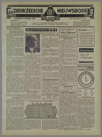 Zierikzeesche Nieuwsbode 1940-03-16