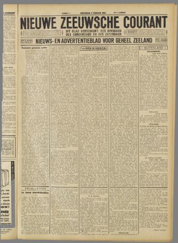 Nieuwe Zeeuwsche Courant 1933-02-09