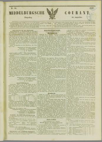 Middelburgsche Courant 1847-08-10