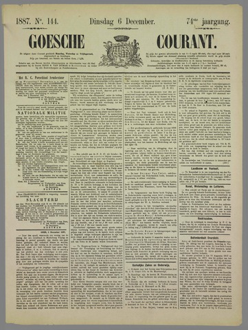 Goessche Courant 1887-12-06