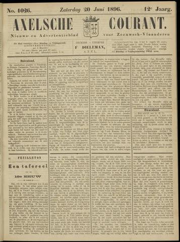 Axelsche Courant 1896-06-20