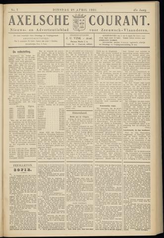 Axelsche Courant 1931-04-28