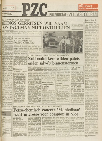 Provinciale Zeeuwse Courant 1975-06-11
