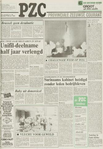 Provinciale Zeeuwse Courant 1984-02-04