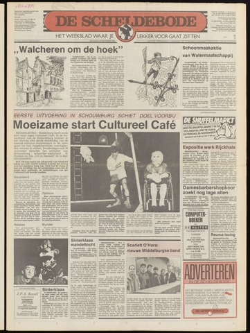 Scheldebode 1986-11-27