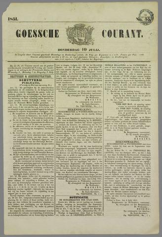 Goessche Courant 1851-07-10