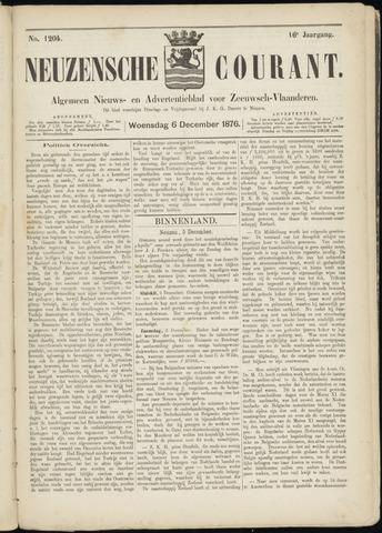 Ter Neuzensche Courant. Algemeen Nieuws- en Advertentieblad voor Zeeuwsch-Vlaanderen / Neuzensche Courant ... (idem) / (Algemeen) nieuws en advertentieblad voor Zeeuwsch-Vlaanderen 1876-12-06
