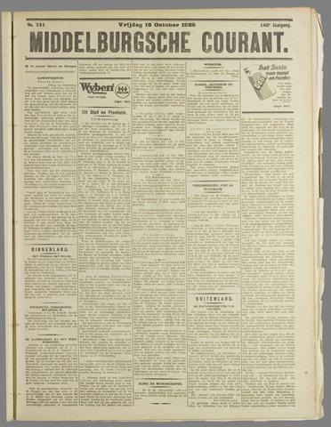 Middelburgsche Courant 1925-10-16