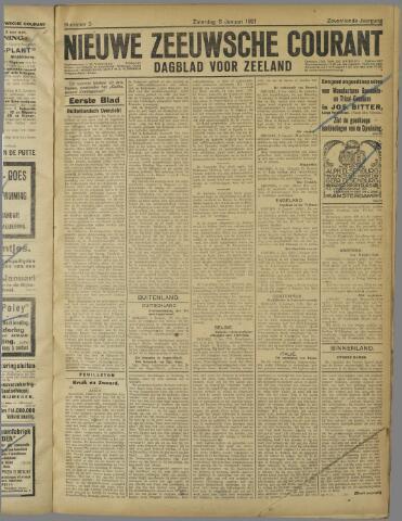 Nieuwe Zeeuwsche Courant 1921-01-08
