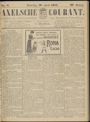 Axelsche Courant 1913-04-26