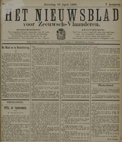 Nieuwsblad voor Zeeuwsch-Vlaanderen 1898-04-16
