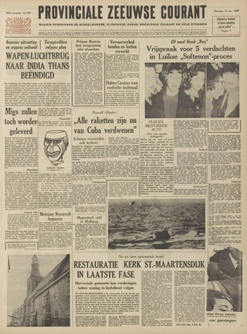 Provinciale Zeeuwse Courant 1962-11-12