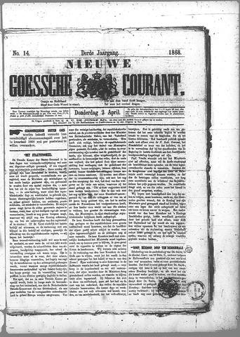 Nieuwe Goessche Courant 1868-04-02