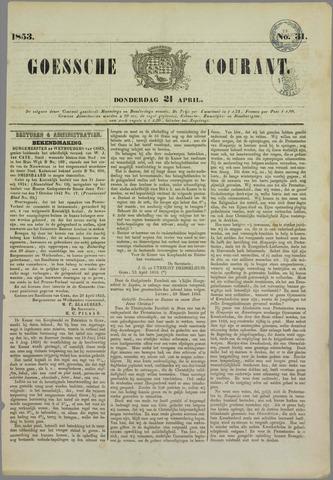 Goessche Courant 1853-04-21