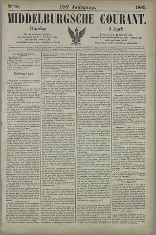 Middelburgsche Courant 1883-04-03