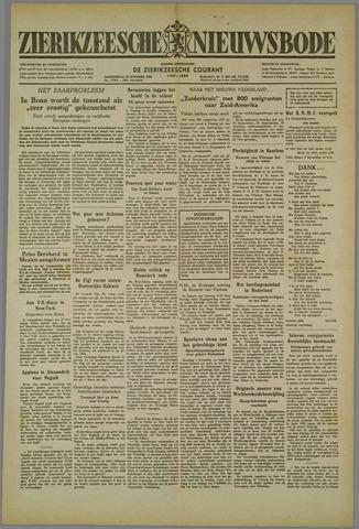 Zierikzeesche Nieuwsbode 1952-10-30