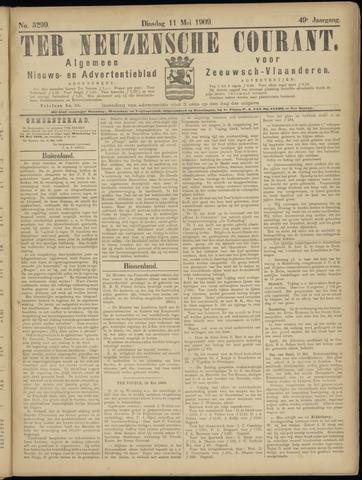 Ter Neuzensche Courant. Algemeen Nieuws- en Advertentieblad voor Zeeuwsch-Vlaanderen / Neuzensche Courant ... (idem) / (Algemeen) nieuws en advertentieblad voor Zeeuwsch-Vlaanderen 1909-05-11
