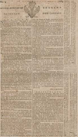 Middelburgsche Courant 1785-01-08