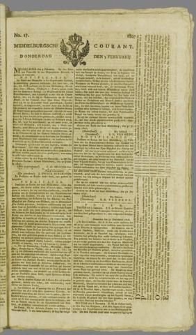 Middelburgsche Courant 1807-02-05