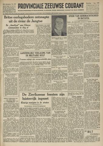 Provinciale Zeeuwse Courant 1949-08-01
